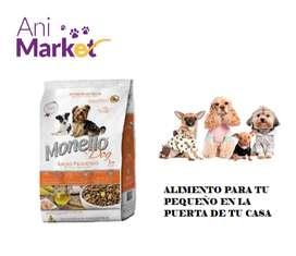 Monello Razas Pequeñas Dog Premiun 7k