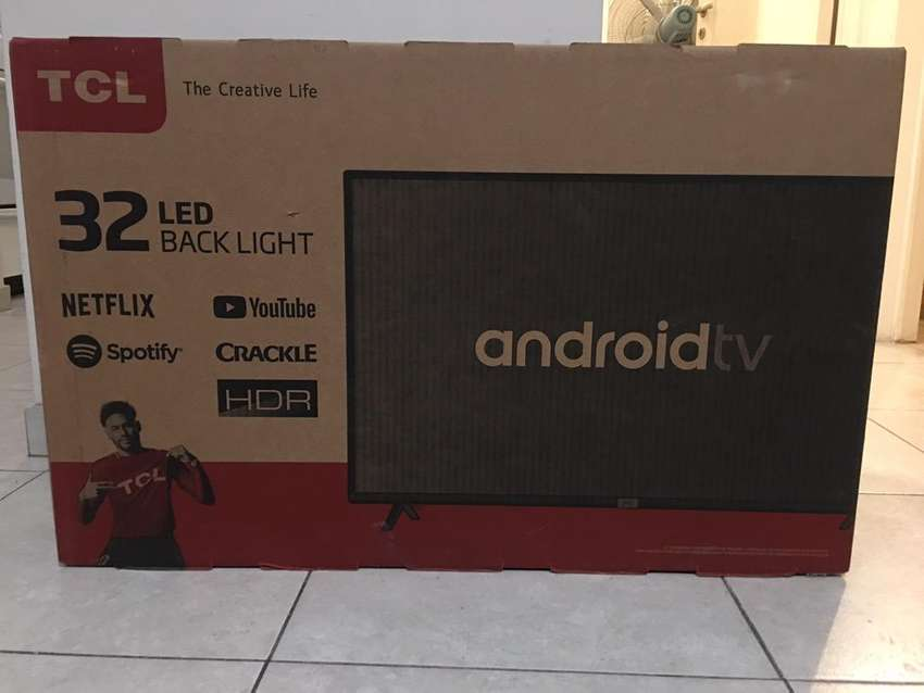 Smart tv hd tcl 32s6500 google netflix android 0