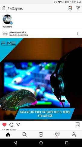 Mouse Gaming Xtech 3d