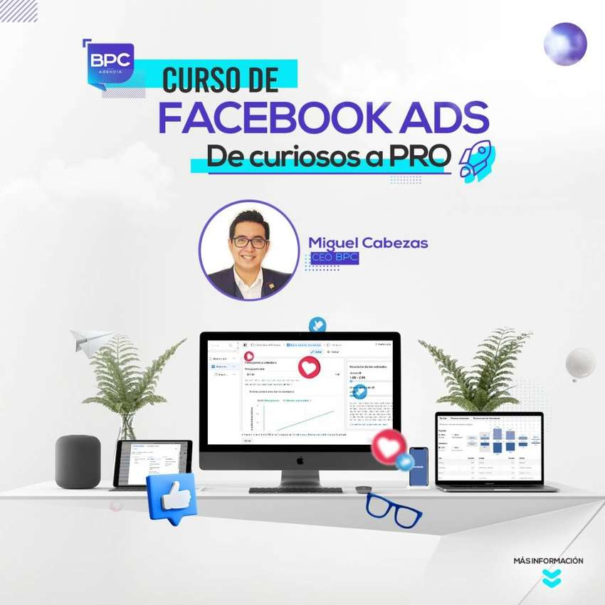 Curso de Facebook e Instagram Ads Ecuador