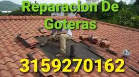 Reparación de Goteras - Impermeabilizacion - Construccion