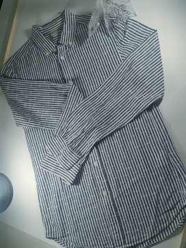 Camisa benetton  Original NIÑO COMO NUEVA