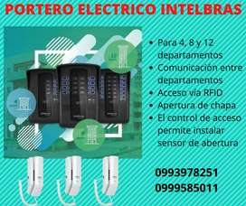 PORTERO ELECTRICO 8 DEPARTAMENTOS