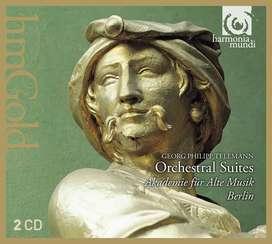 CD- Telemann: Orchestral Suites - Akademie Fur Alte Musik Berlin.