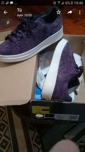 Zapatillas Adidas Stan Smith New Bold W - Talle  37,5