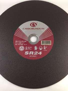 "DISCO CORTE 14X1/8"" TRONZADORA CARBORUNDUM12"