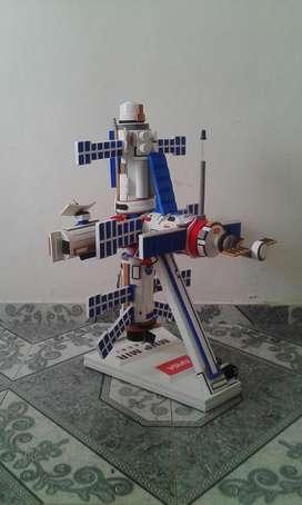 diorama estación espacial internacional