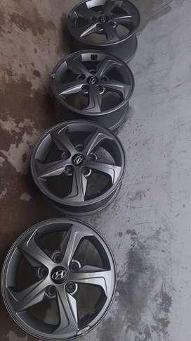 Aros Originales Hyundai Elantra Tamaño 15