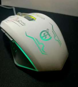 Mouse Gamer E28  Led Óptico  Domicilio Gratis