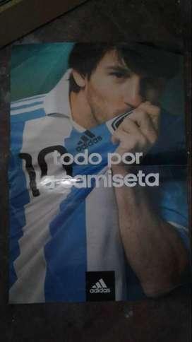 Poster De Messi Argentina - adidas