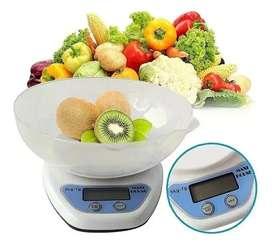 Gramera Digital 5kg Cocina Recipiente Balanza Bascula Pesa
