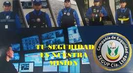 servicio de seguridad privada con guardias armados
