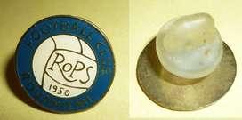 RARO PIN DISTINTIVO FUTBOL DE FINLANDIA . CLUB ROPS ROVANIEMI 1990s