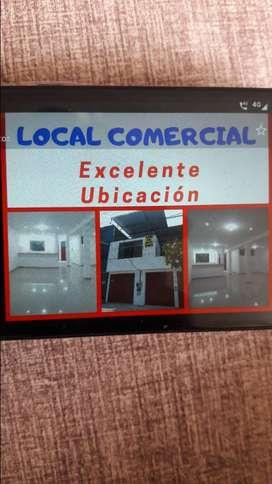 Alquilo local comercial para negocio