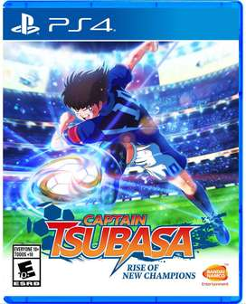 Pre Venta ps4 SUPER CAMPEONES CAPTAIN TSUBASA RISE OF NEW CHAMPIONS