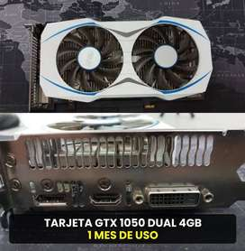 Tarjeta de video GTX 1050 Dual 4Gb