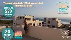 Invierta en el futuro de su familia lotes totalmente urbanizados tan sólo con 90usd entrada / SD3