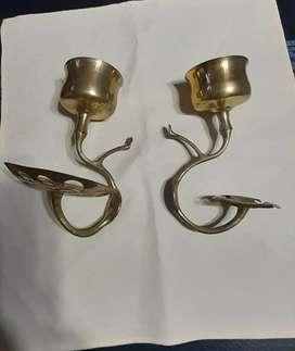 Vendo accesorios de bronce para baño.
