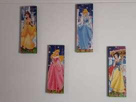 Cuadros de Princesas + Obsequio