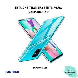 Estuche Para Samsung A51 Transparente Rígido
