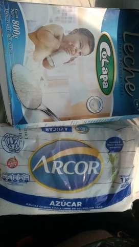 Combo de azúcar y leche