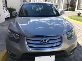 Hyundai Santa Fe 2.4, A/A TM Full Equipo año 2011