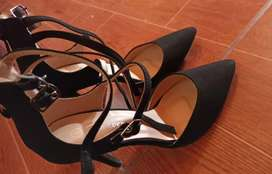 Zapatos de Taco Talla 6