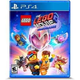 juego ps4: The LEGO Movie 2 Videogame. nuevo