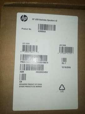 Parlantes hp usb speakers v2