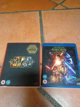 Bluray starwars Edicion Limitada