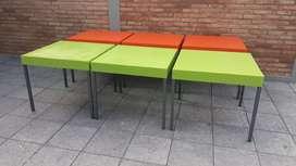 Se vende mesas de jardin