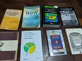 Diccionarios, libros de literatura., etc gran rebaja