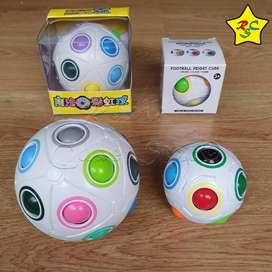 Pack Esferas Didáctica Infantiles Destreza Mental Rainbow X2