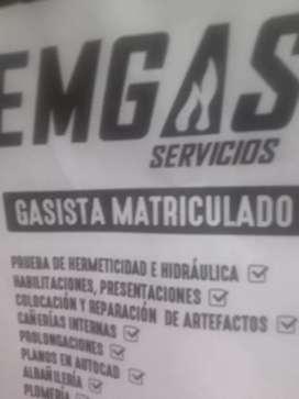 EMGAS SERVICIOS PLOMERIA Y GAS