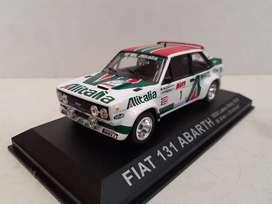 FIAT 131 MIRAFIORI ABARTH  ALITALIA escala 1/43 Rally 1000 Lakes 1979
