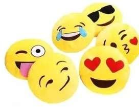 Cojín Emoticon Whatsapp Gato Enamorado 30cm