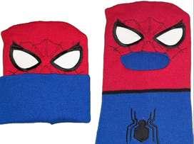Gorro Pasamontaña Diseños Variados Spiderman