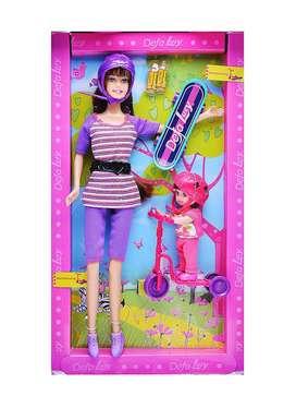 """""""Muñeca Defa Lucy Baby Skateboarding""""envió incluido gratis"""