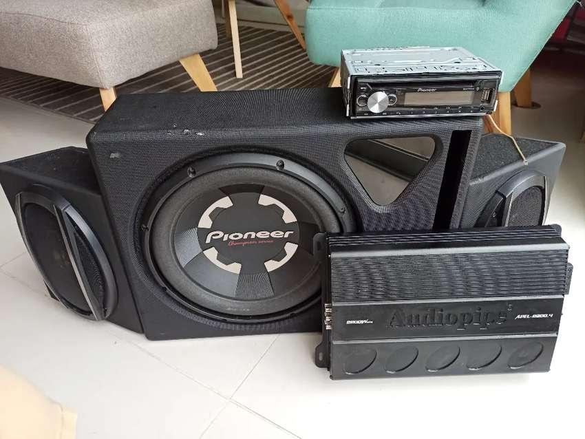 Equipo de sonido completo Marca Pioneer