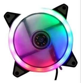 Ventilador Cooler Fan 120mm Led Para Computador - Domicilio Gratis