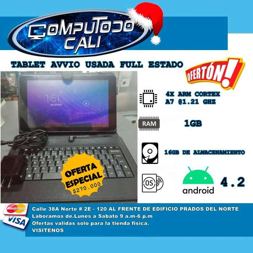 TABLET AVVIO  USADA EN PERFECTAS CONDICIONES 0