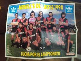 poster newells old boys 1990