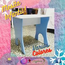 Mesa Infantil De Madera (mdf)