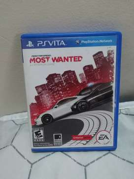 Juego PSvita Playstation Most Wanted