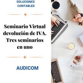 Seminario Virtual de devolución de IVA