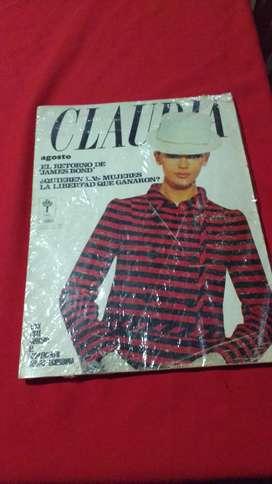 Revista CLAUDIA año 1967