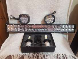 Luces y barras LED. De 50cm y 30cm