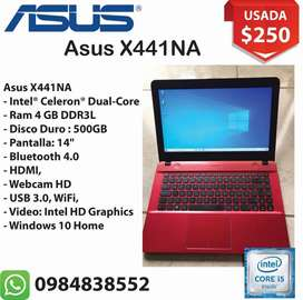 Laptop Asus Intel Celeron Ram 4gb