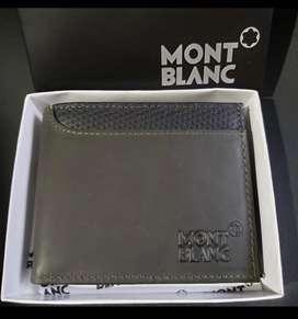 Billetera mont blanc caja marcada