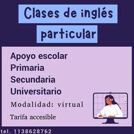 Clases de Inglés Online! Tarifas accesibles